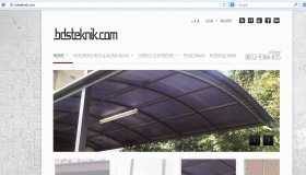 website usaha jasa canopy